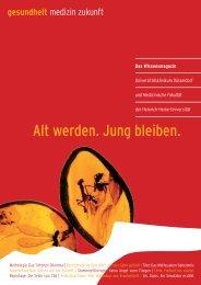 UKD Kundenmagazin_02 - Universitätsklinikum Düsseldorf