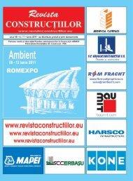 citeste articolul integral in Revista Constructiilor nr. 71 – iunie 2011 ...