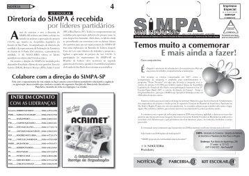 Ano 1 - nº 06 - simpa sp