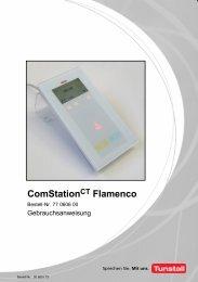 Gebrauchsanweisung ComStation CT Flamenco - Tunstall GmbH