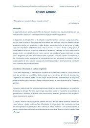 TOXOPLASMOSE - Secção de Neonatologia SPP - Home