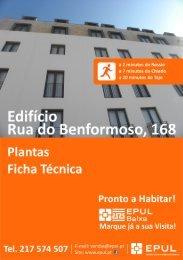 Plantas e Ficha Técnica - EPUL