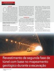 Revestimento de segunda fase de túnel - GeoCompany ...