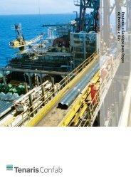 Produtos e Serviços para Poços de Petróleo e Gás - Tenaris