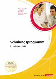 Schulungsprogramm - Tunstall GmbH