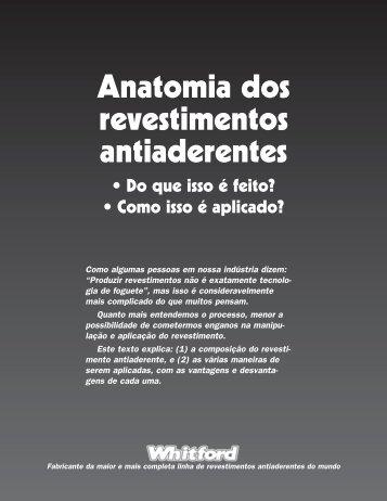 Anatomia dos revestimentos antiaderentes • Do que isso é feito?