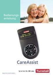 CareAssist Bedienungsanleitung (2,50 MB) - Tunstall GmbH