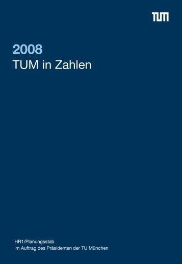 TUM in Zahlen 2008