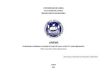 anexo - Repositório da Universidade de Lisboa