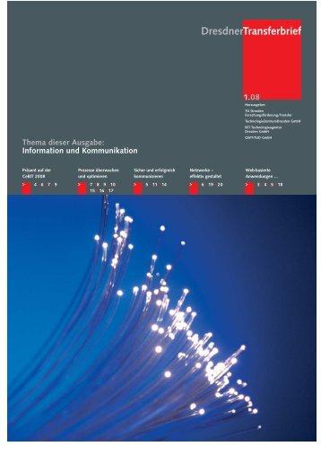 Transferbrief - im Forschungsinformationssystem der TU Dresden ...