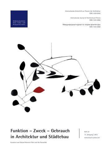 Wolkenkuckucksheim – 19. Jahrgang – Heft 1/2012 ...