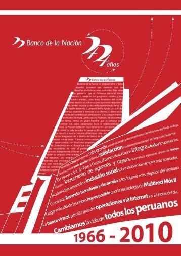 CRÉDITO HIPOTECARIO SECTOR PÚBLICO - Banco de la Nación