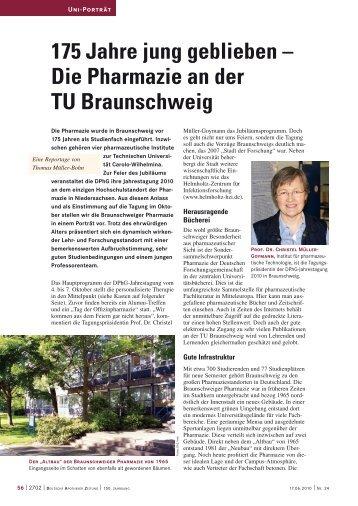 175 Jahre jung geblieben - Technische Universität Braunschweig