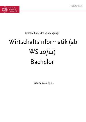 Bachelor - Technische Universität Braunschweig