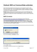 Microsoft Outlook 2003 - Page 3