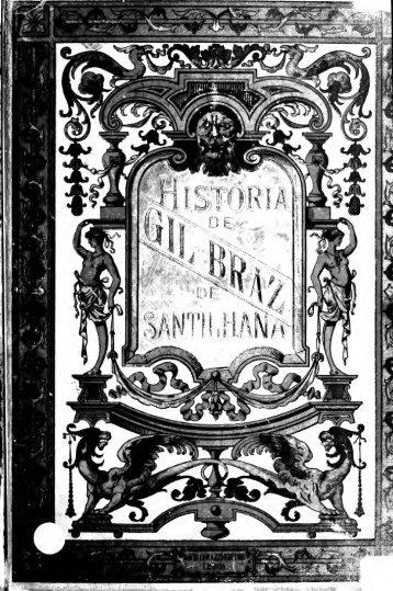 Historia de Gil Braz de Santilhana
