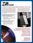 REVESTIMENTO DE MOINHOS DE BORRACHA ... - Polycorp - Page 2