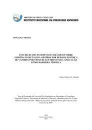 Estudo de revestimentos cerâmicos sobre substrato metálico obtido