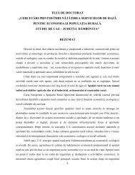 rezumat tezei de doctorat_cercetari privind imbunatatirea serviciilor de