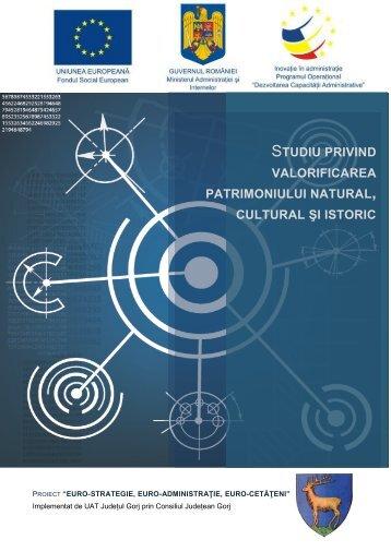 Studiu privind valorificarea patrimoniului natural, cultural și istoric