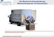 Wechsel-Konzept der TU Kaiserslautern - VCRP