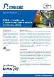 ERMA – Energie- und Ressourceneffiziente Mobile Arbeitsmaschinen