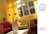 Upgrade PLUS - Klinik Villa im Park