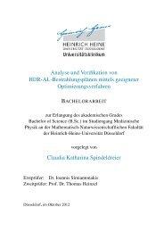 Analyse und Verifikation von HDR-AL-Bestrahlungsplänen mittels ...