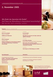 2. November 2005 - Universitätsklinikum Düsseldorf