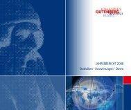JGU Zahlenspiegel 2008 - Johannes Gutenberg-Universität Mainz