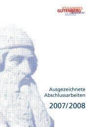 Ausgezeichnete Abschlussarbeiten - Johannes Gutenberg ...