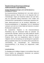 außerschulische Jugendbildung - Johannes Gutenberg-Universität ...
