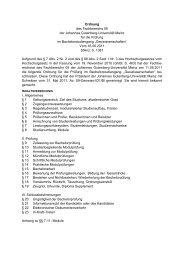 Ordnung des Fachbereichs 09 der Johannes Gutenberg-Universität ...