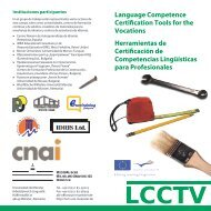 Language Competence Certi cation Tools for the Vocations ...