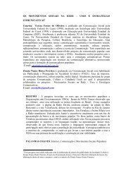 OS MOVIMENTOS SOCIAIS NA REDE - Comunicação Empresarial ...