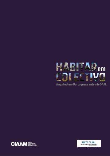 CATALOGO HABITAR em COLECTIVO - Universidade de Coimbra