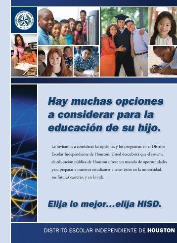 Presione aquí - HISD Connect - Home