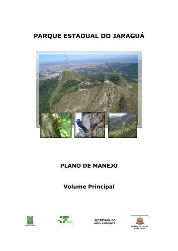 PLANO DE MANEJO DO - Secretaria do Meio Ambiente - Governo ...
