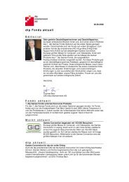 dtp Fonds aktuell - United Investors