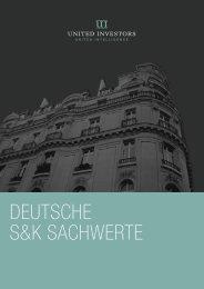 deutsche s&k sachwerte - AVL Finanzdienstleistung Investmentfonds