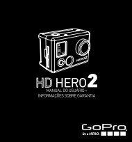 manual do usuário + informações sobre garantia - GoPro