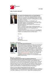 Newsletter für Investoren - United Investors