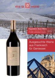 Ausgesuchte Weine aus Frankreich für Geniesser. - Vina Weine