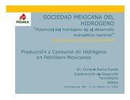 Dr. Enrique Bazúa, Desarrollo Tecnológico PEMEX - Comisión ...