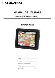 N260 FE - Sisteme de navigatie GPS auto Navon
