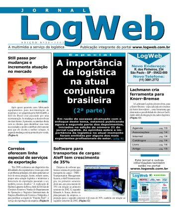 Edição 22 download da revista completa - Logweb