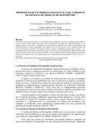 proposição de um modelo conceitual para o projeto de sistemas de ...