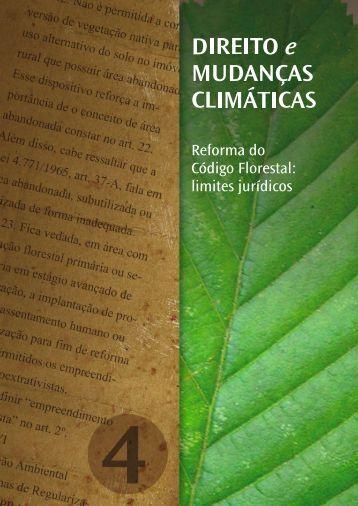 """""""Reforma do Código Florestal: limites jurídicos"""". - Observatório Eco"""