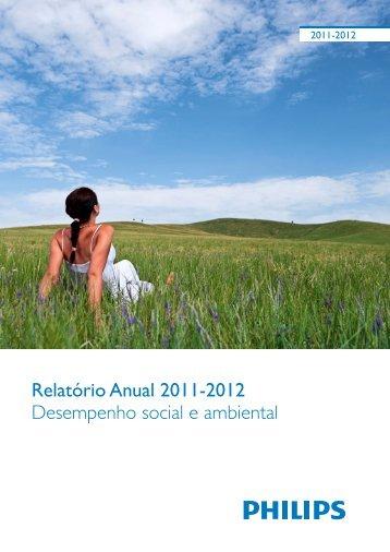 Relatório de Sustentabilidade 2011 - 2012 - Philips