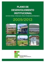 Plano de Desenvolvimento Institucional - Campus Ipojuca - IFPE